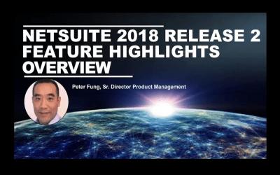 De hoogtepunten uit de release van NetSuite 2018.2