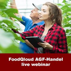 FoodQloud NetSuite AGF-handel demo webinar partij administratie erp