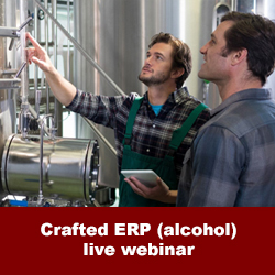 crafted erp alcohol webinar foodqloud netsuite