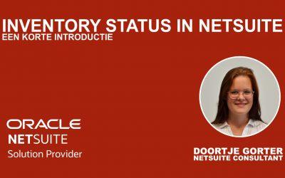 Blog en Demo: De voordelen van voorraadbeheer in NetSuite