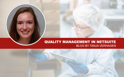 Blog: Quality Management in NetSuite